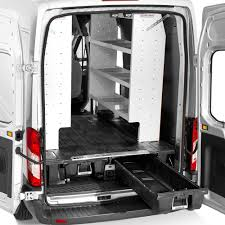 Dodge Ram Cargo Van - decked ram promaster 2500 2015 2017 cargo van storage system