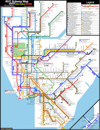 Myc Subway Map by The Subwaynut U0027s Metro North Section