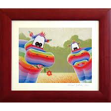 cadre pour chambre bébé tableau hippopotame heureux este tableau pour bébé déco bébé