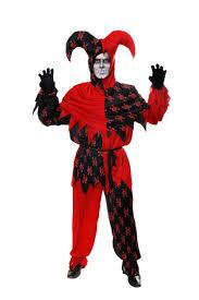 Jester Halloween Costume Evil Jester Skull Halloween Costume Mens Halloween Costumes