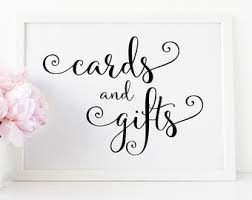 sign a wedding card cards and gifts sign etsy