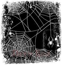 halloween stamp deep red stamps spider web background stamp
