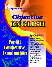 objective english for all competitive examinations buy objective