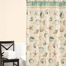 Seashell Shower Curtains Decor Shower Curtains To Create An Instant Spa Feeling