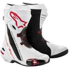racing boots alpinestars supertech r motorcycle motorbike racing moto gp sports