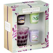 gift sets yankee candle essence gift set votive candles holder