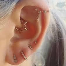 ear piercings types diagram beautiful 67 unique ear piercing ideas