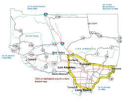 ventura county map highway information area maps caltrans district seven