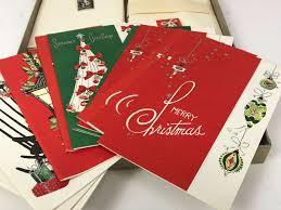 vintage christmas sparkle christmas cards plus vintage lincoln