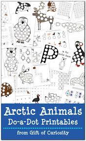 6 best images of arctic animals printables arctic tundra animals
