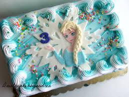 frozen inspired fondant elsa cake topper by daintycakesbyandrea