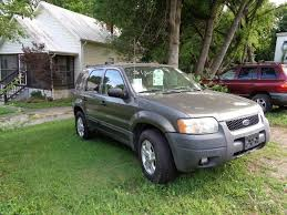 Ford Escape Green - 2004 ford escape xlt for sale in maryville tn 37804