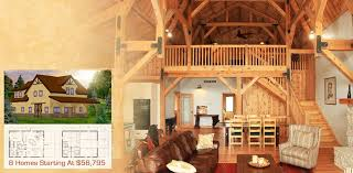 Barn Homes Floor Plans Wood U0026 Horse Barn Homes Garages Loft Living Sand Creek Post U0026 Beam