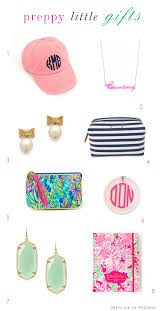 preppy little gifts for bridesmaids and friends