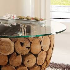 Wohnzimmertisch Ausgefallen Ungewöhnlicher Couchtisch Eradis Mit Runder Glasplatte