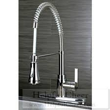 spiral kitchen faucet continental modern spiral pull chrome kitchen faucet at