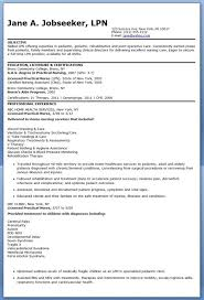 exles of lpn resumes sle lpn resume objective creative resume design templates word