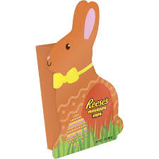 reese s easter bunny reese s easter miniature cups bunny box 6 9 ounces walmart