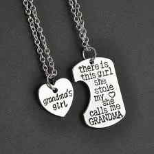 grandmother granddaughter necklace granddaughter necklace herzoge