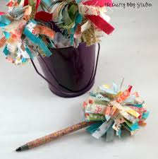 pom pom pen tutorial the crafty blog stalker