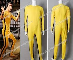 bruce yellow jumpsuit the of bruce costume yellow jumpsuit sporty