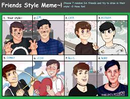 Dan And Phil Memes - friends style meme feat dan and phil by frenchiesttoast on deviantart