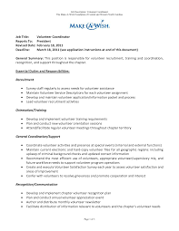 sample cover letter for volunteering guamreview com