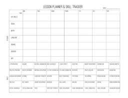 printable montessori curriculum preschool lesson planner skill tracking progress prek printable