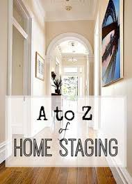 the a to z of home staging a and easy guide stage real