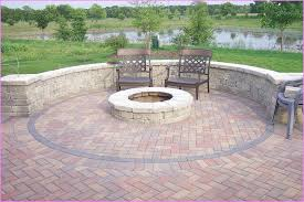 amazing brick patio designs with fire pit 18 on balcony height