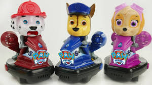 paw patrol toy race cars surprise learn colors toys