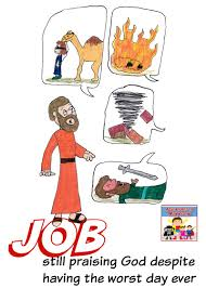job lesson for kids bible sunday and