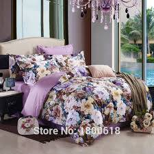 best bed sheets for summer 2015 lilac color bed sheet beautiful flowers bedding sets queen