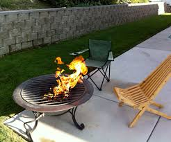 propane fire pit with pictures