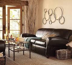 Scroll Arm Chair Design Ideas Earthy Living Room Ideas Round Orange Finish Solid Wood Coffee