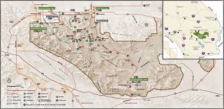 Indian Cave State Park Map by Joshua Tree National Park