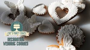fancy wedding cookies baking and cake decorating how to tutorial