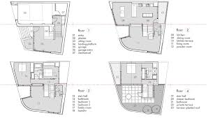 Multi Level Floor Plans Extraordinary 20 Multi Living House Designs Decorating Design Of