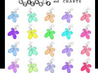 free printable butterfly stickers free butterfly sticker charts