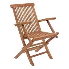Folding Patio Chairs With Arms by Outdoor Chairs