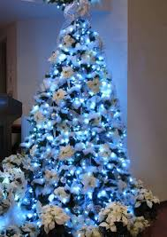 christmas tree decorating ideas blue and white best images