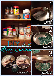 Lazy Susan Organizer For Kitchen Cabinets by This Dollar Tree Diy Kitchen Organizer Is Super Easy To Make And