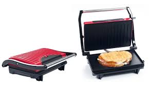 Toaster Press Nonstick Grill And Panini Press Groupon