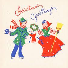 retro christmas cards 1940 s christmas card christmas greetings vintage christmas card