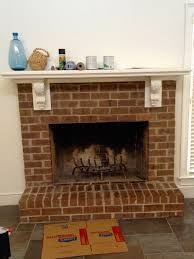 fireplace makeover more about that