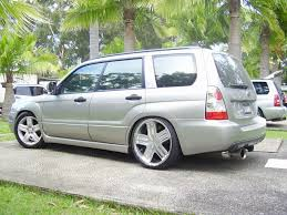 subaru forester lowered does anyone have photos of an 06 xt that has been lowered a bit