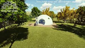 glamping dome resort forest resort shelter dome youtube
