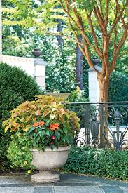 Raised Patio Planter by Spectacular Container Gardening Ideas Southern Living