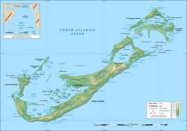 Physical Map Of North America by Maps Of Bermuda Map Library Maps Of The World