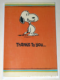 snoopy cards peanuts thank you cards collectpeanuts